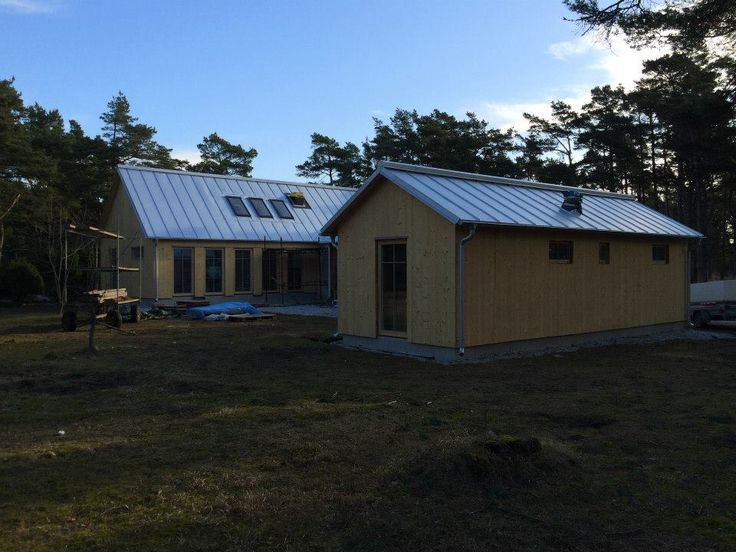 Summerhouse on the island of Gotland, Sweden. #architecture #wood #zinc #nordic #extension #wip #workinprogress #dawnofideas