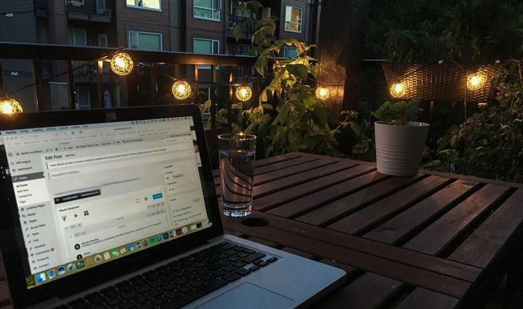 J'ai viré mon balcon en cour arrière et le résultat est vraiment bien.Voici mes idées pour t'inspirer et aménager ton balcon Pinterest style.
