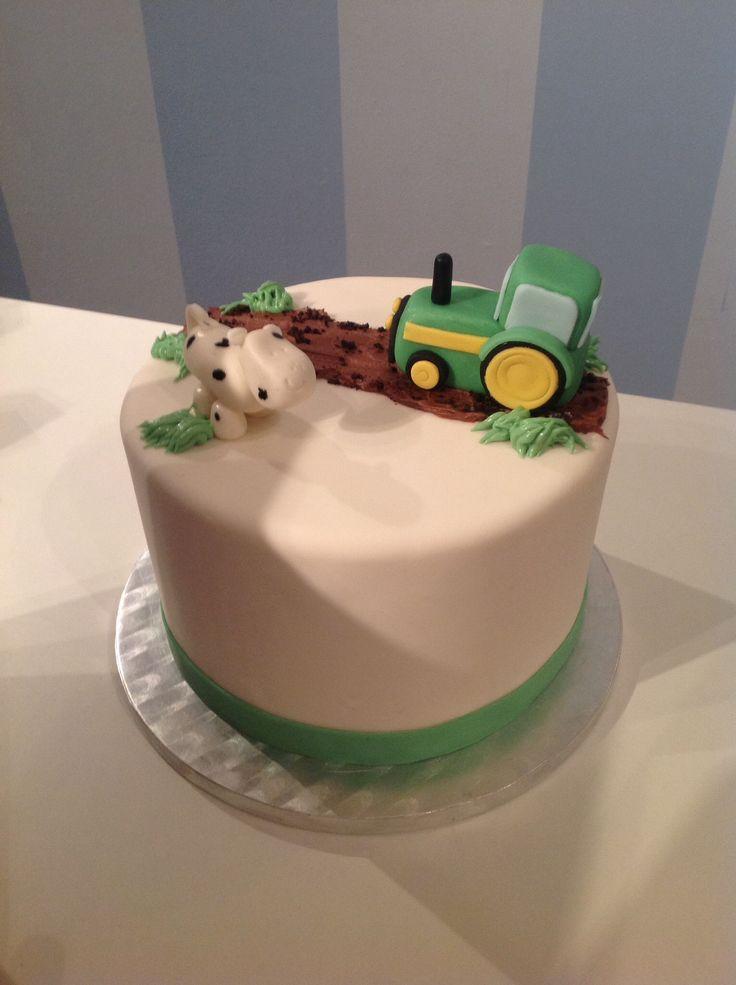 Farming Birthday Cake