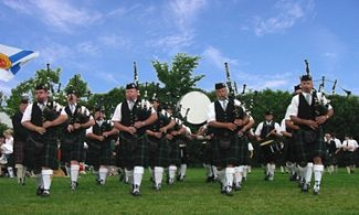I will miss bagpipes in the summer.