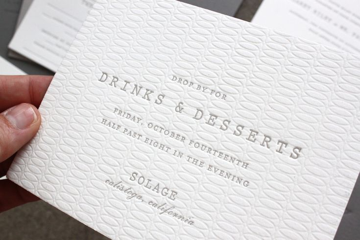 Dinner rehearsal verbage invite idea | Understated Gray + White Wedding Invitations by Sideshow Press via Oh So Beautiful Paper (6)