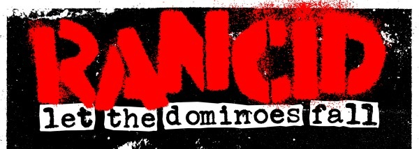 The band Rancid's stencil logo has been around about 15 years. That, added with the consistent use of label-maker fonts for track listings and liner notes, continues to drive their DIY aesthetic...well, unless you think they're exploiting the idea considering they were on a major label for this album's release & all. *shrug*