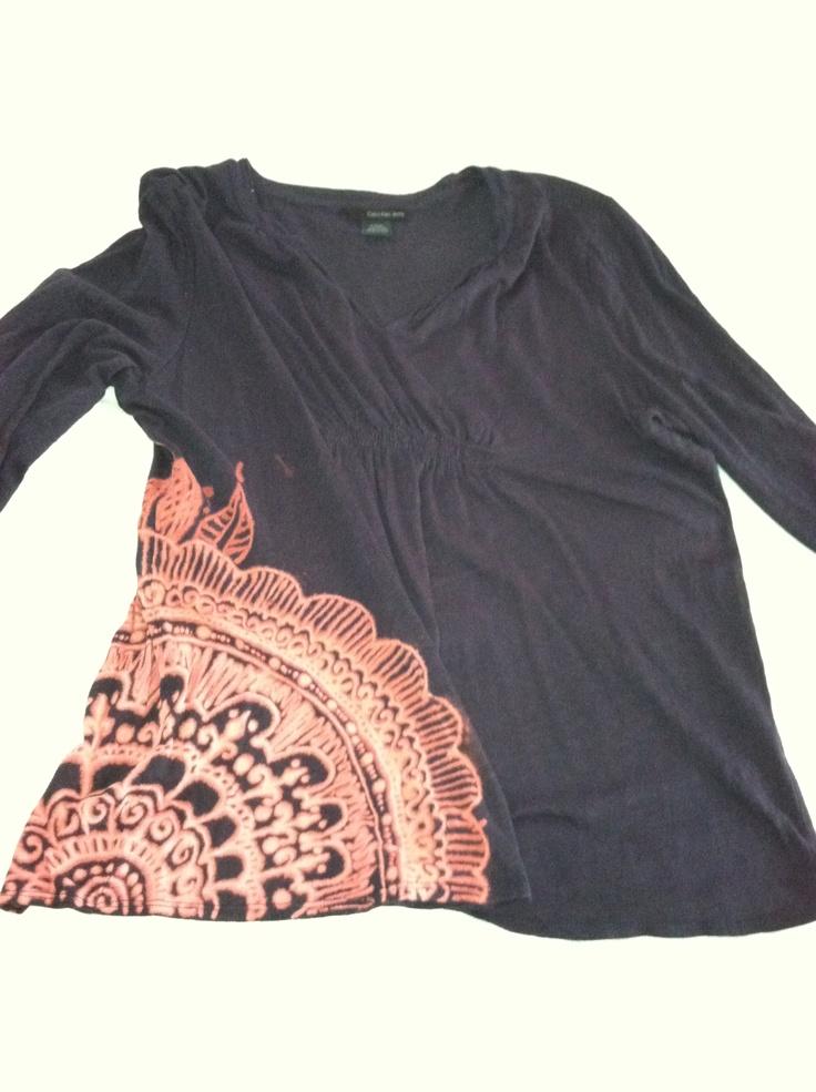 25 b sta bleach pen id erna p pinterest skjorta g r for How to bleach designs into shirts