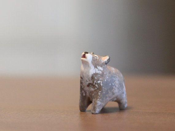 Bebé lobo-el vivero de Totem