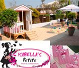 Isabella's Greenlyn - Our vintage themed venue, where adults can enjoy a relaxing lunch or slice of cake, while kids are entertained & treated with candyfloss, ice cream & much more. Surrounded by an idyllic park-like atmosphere with breath-taking decor, beautiful sandpit and dolls' house is open 7 days a week.