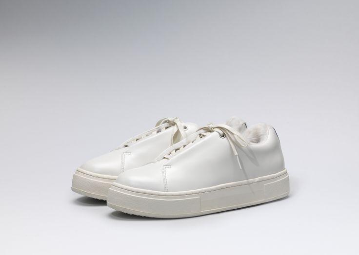 #Eytys Doja Leather in Arctic White.