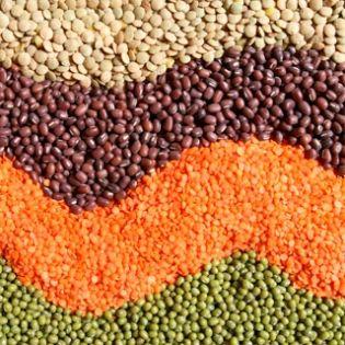 Beans, Green/Red Choricero Pepper and Chorizo