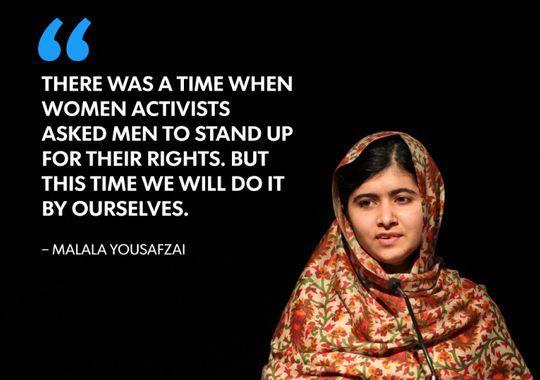 I Am Malala: Nobel Peace winner's quotes | I am, Peace and Winner ...