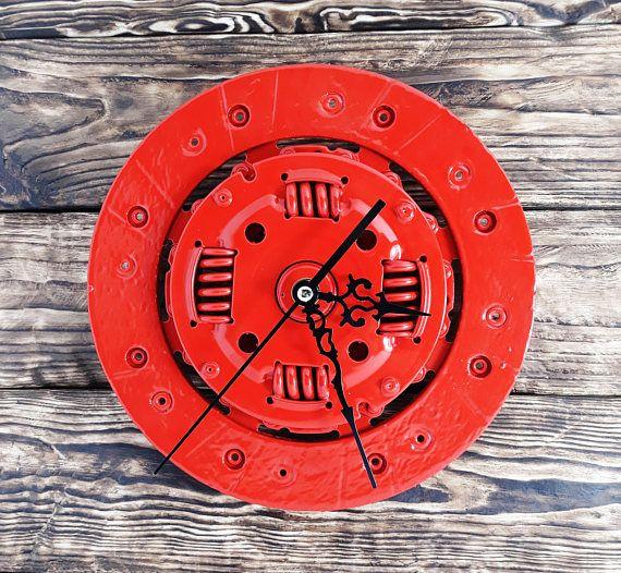 Pin By Lugo On Clocks In 2020 Industrial Clock Wall Handmade Wall Clocks Wall Clock