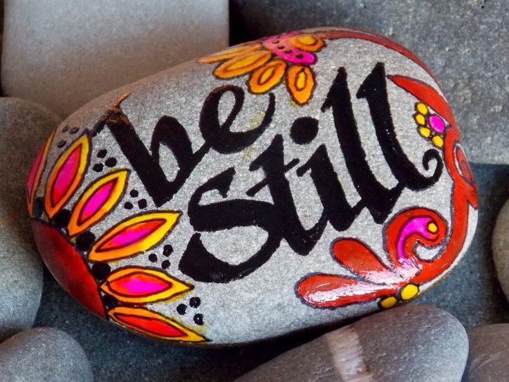 Ser todavía / Painted Rock / Sandi Lucio por LoveFromCapeCod