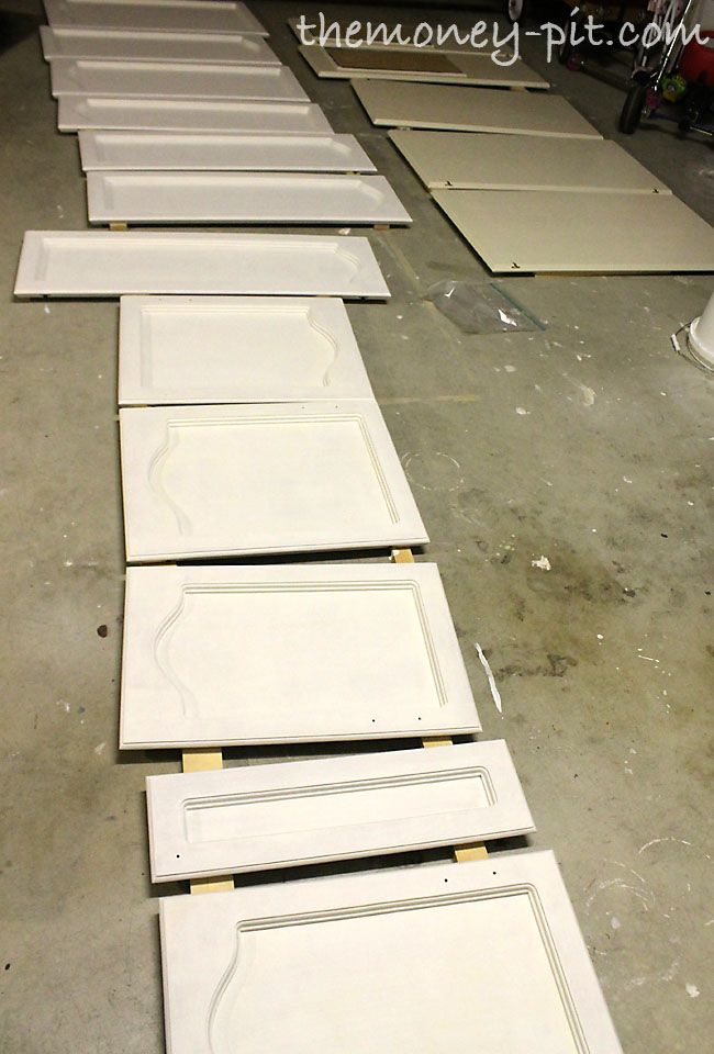 How To Paint Your Kitchen Cabinets Without Losing Your Mind...might be good to know one day