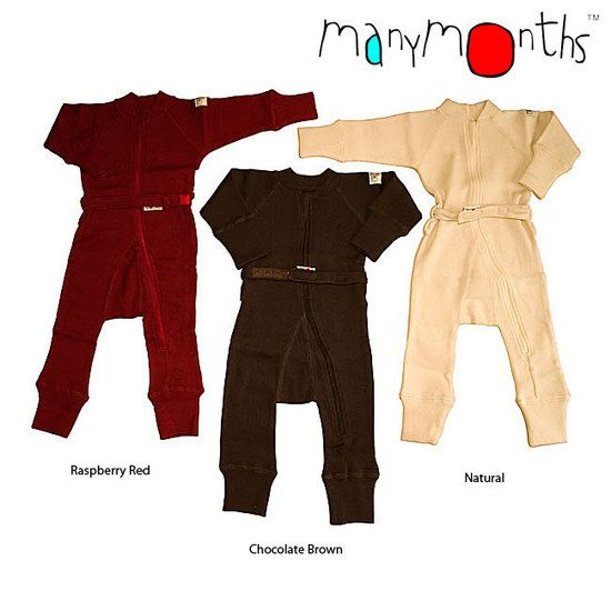 MaMidea: Children - Clothing - ManyMonths - MerinoWool - ManyMonths Wool One Piece Suit