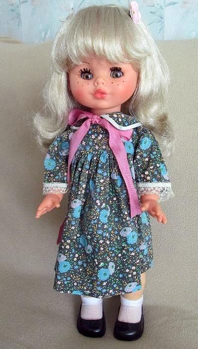 Furga Italian doll Cristi from the 70's. She talks, sings and walks.