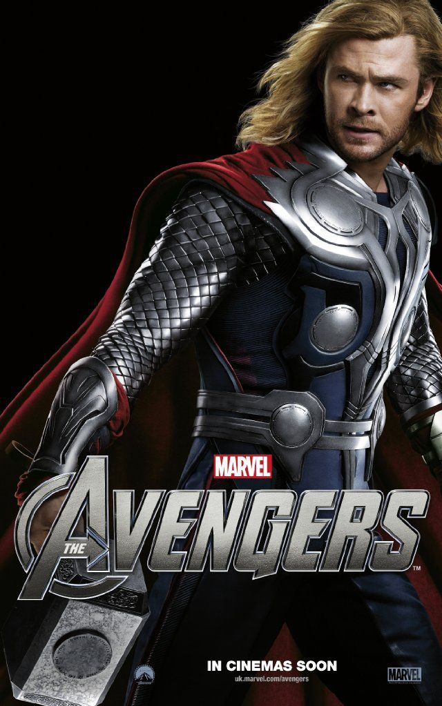 The Avengers: Thor: Movies Comics Tv Mus, Poster
