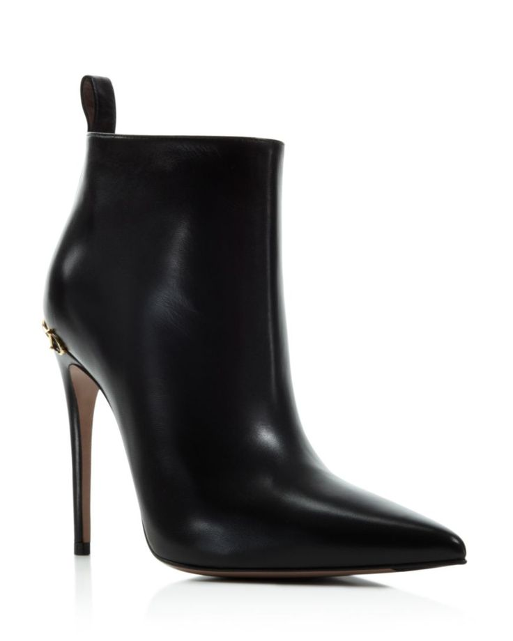 SERGIO ROSSI Stiefel Gr. D 375 Schwarz Damen Schuhe High Heels Boots Shoes