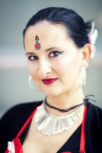 dancer: Paulina from Sunanda Tribe, photographer: Magdalena Sobkowiak, bindi: Tribal Bindi www.facebook.com/... belly dance bindi