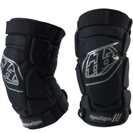 Troy Lee Designs T-Bone Knee Guard Black, L/XL - Men's