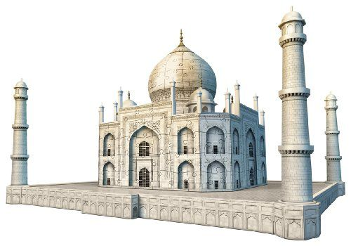 Taj Mahal 3D Puzzle, 216-Piece - List price: $59.99 Price: $32.19 Saving: $27.80 (46%)