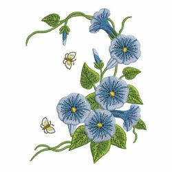 Morning Glory 09 machine embroidery designs