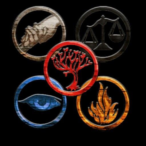divergent faction symbols eye erudite fire dauntless