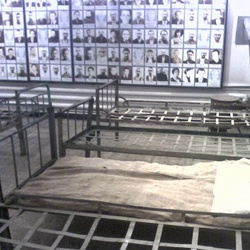 The Sighet prison, located in the town of Sighetu Marmaţiei, Maramureş county, Romania, was used by the communist regime to hold political prisoners. It is now the site of the Sighet Memorial Museum, part of the Memorial of the Victims of Communism