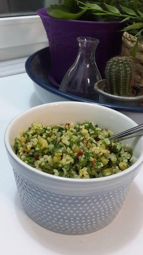 Bulgur Salatası   Ayferin Renkli Mutfağı