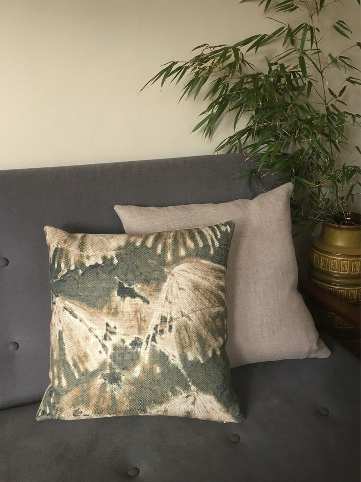 Cushion cover in Zoffany Iliad Moss fabric - a stunning botanical abstract design in linen/viscose https://www.etsy.com/uk/listing/588508068/zoffany-iliad-cushion-cover-in-moss #zoffany #iliad #linencushion #dandelion #linenpillow #abstractcushion #zoffanycushion