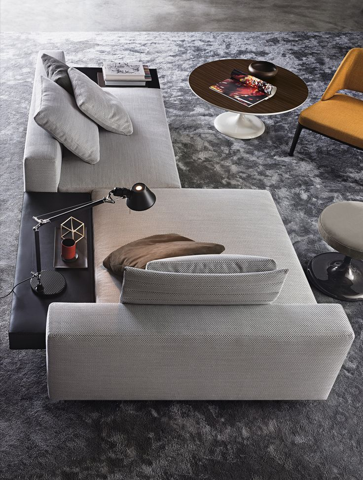 Smink Incorporated   Products   Sofas   Minotti   White