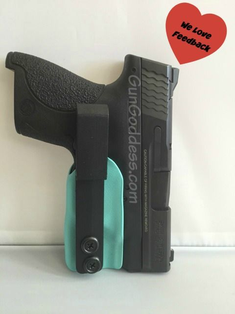 """I LOVE this holster. I'm pretty small, and I have both a Ruger LC9 and LCP. Till I found this holster, the only gun I could actually conceal was my little 380. Finally I've found a holster to conceal my 9mm! The quality is great and I feel confident that my gun will stay safe and concealed with no added bulk. I plan on buying one for my LCP as well at some point."" ~ Sarah  Trigger Guard Inside-the-Waistband Carry - Customize It…"