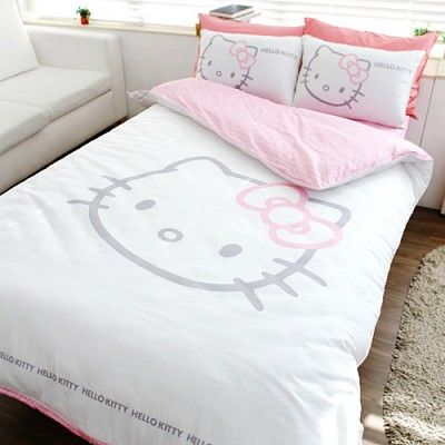 Hello Kitty bedding - Think my dogs would be ok with this?