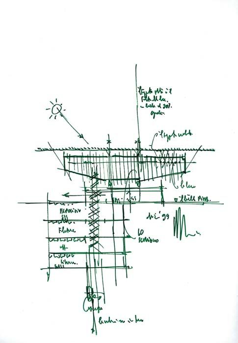 Drawings - Lingotto Factory Conversion - Renzo Piano
