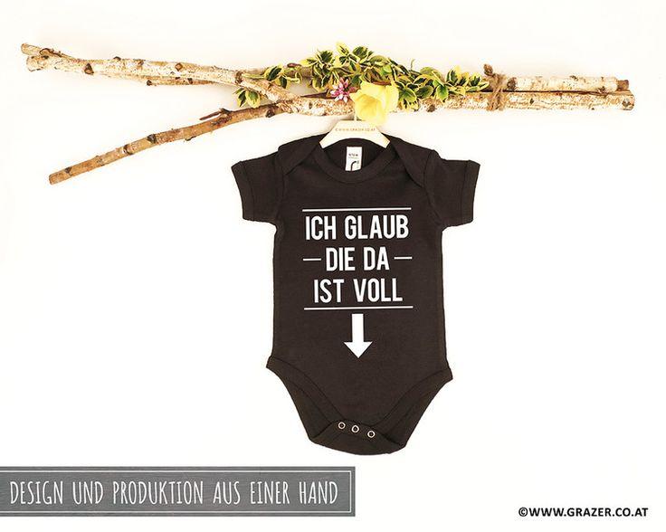 Bodys - Babybody mit Spruch | 7 - ein Designerstück von Dr_Grazer_und_Co bei DaWanda