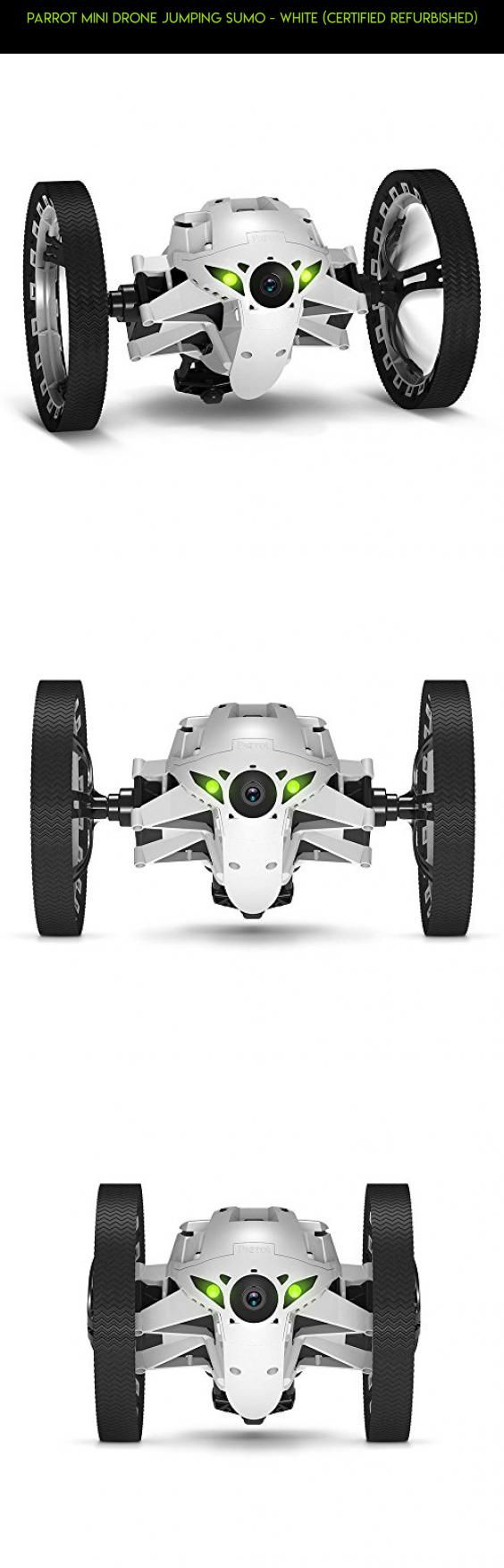 Parrot Mini Drone Jumping Sumo - White (Certified Refurbished) #camera #parrot #products #shopping #drone #1 #plans #racing #tech #technology #gadgets #fpv #kit #parts #drone