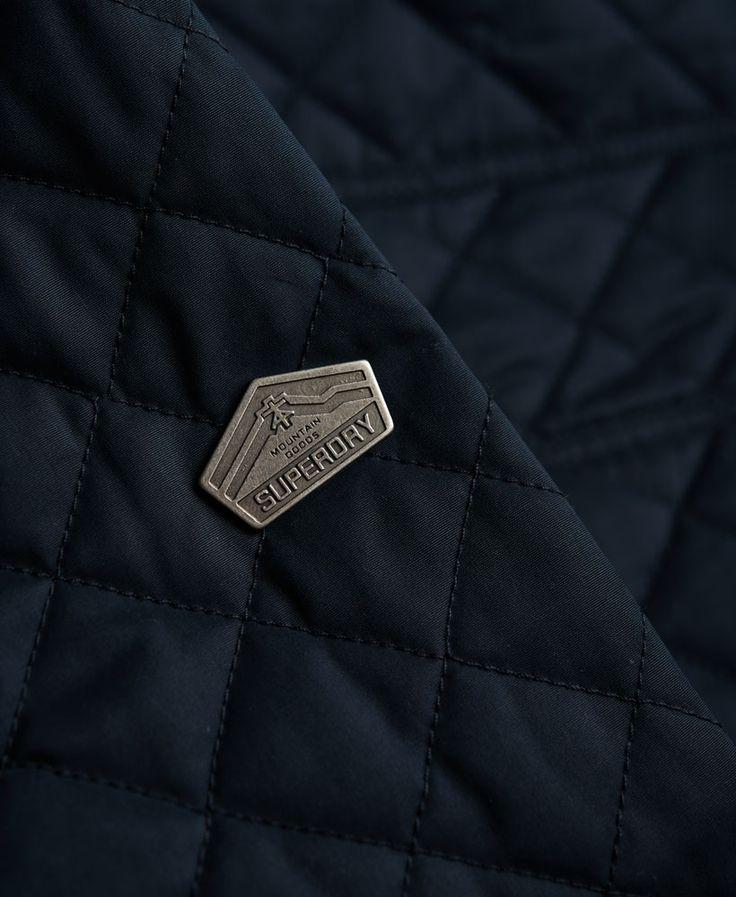 Superdry - Veste en microfibre matelassée Windhiker - Vestes pour Homme