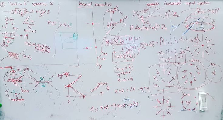Messy whiteboards of ETH vol. 2: Someone here are having fun with group theory and are throwing in a few monopoles here and there. Again it is these theoretical condensed matter people whom I am not one of making creative research about the world around us! . . . #ethz #ethzurich #eth #zurich #zürich #züri #university #uni #doctoralstudent #research #theoreticalphysics #physics #phdlife #phd #graduate #student #studentlife #study #whiteboard #quantum #mechanics #school #switzerland #schweiz…