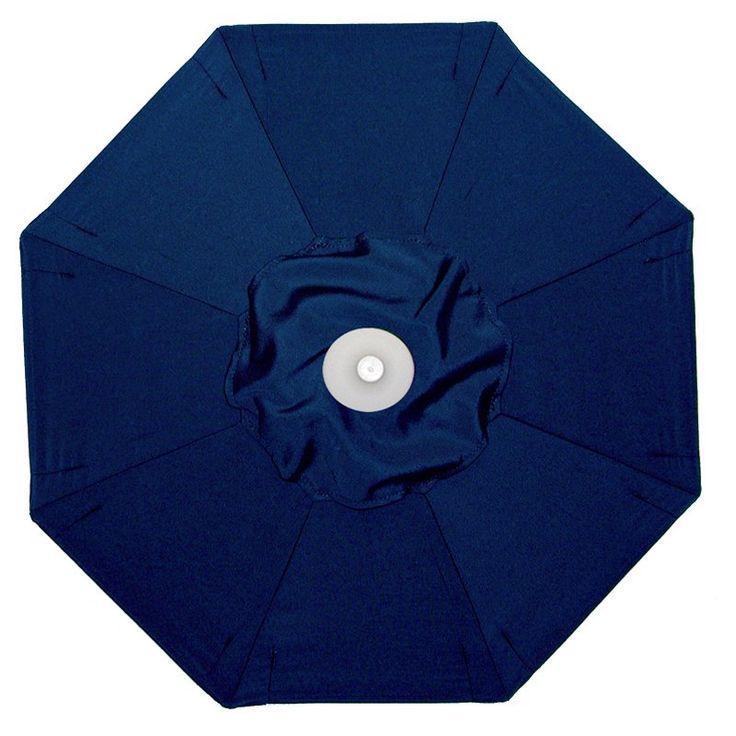 Galtech 9-ft. Aluminum Tilt Patio Umbrella Sunbrella Navy Blue / Grade B - BH736MO-58