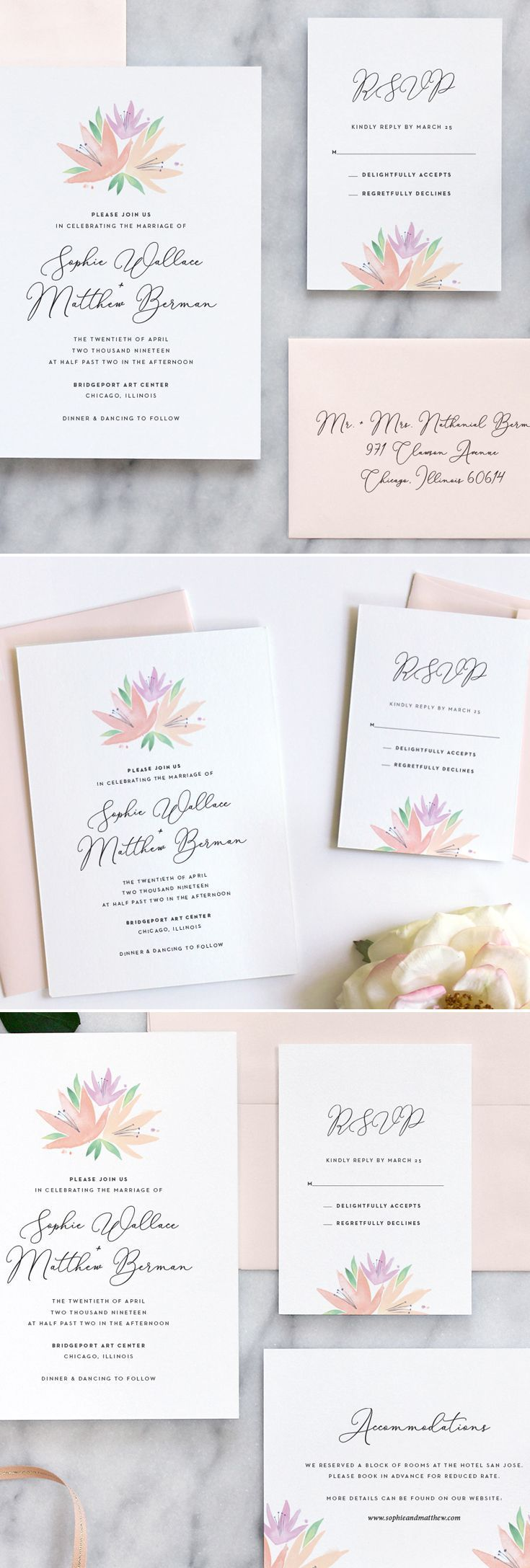 229 Best Fine Day Press Wedding Invitations Images On Pinterest