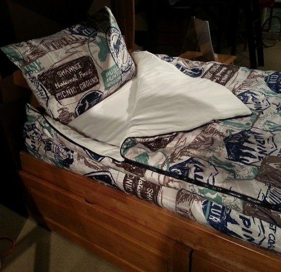 Afbeeldingsresultaat Voor How To Make Bedding Bunk Bed