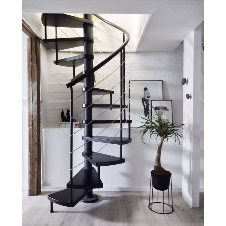 My home - Spiral stairs - Nordic Interior
