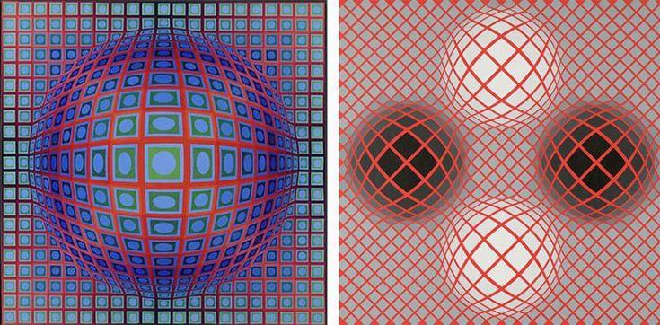 Vasarely et la publicité - parcours peu connu du géant de l'art optique