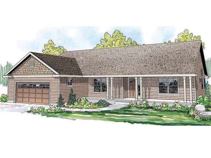 Ranch+Home+Plan+with+1884+Square+Feet+and+3+Bedrooms+from+Dream+Home+Source+|+House+Plan+Code+DHSW077478