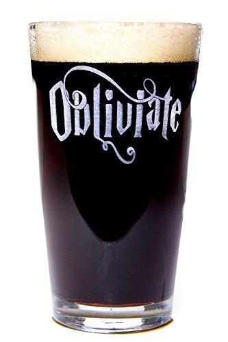 Obliviate Harry Potter Pint Beer Glass