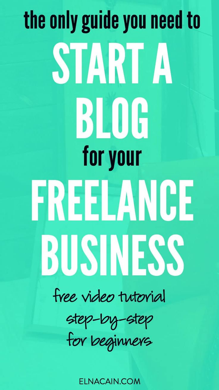 Are you a freelance writer beginner? Looking to make money writing online? You NEED to start a blog for your business – not just a portfolio. Here's how to set one up FAST with a step-by-step tutorial and video (even if you're not tech-savvy!). Read now and take action!   freelance writing for beginners   learn freelance writing   start a blog   make money blogging