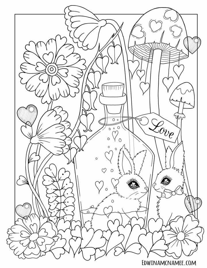 Coloring Coloringbook Coloring Secrets Coloringpages Coloringpage Edwinamcnamee Coloringfo Easter Coloring Pages Cute Coloring Pages Cool Coloring Pages