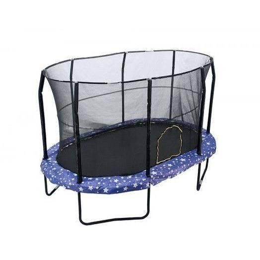8x12 Oval Trampoline with Enclosure - American Stars