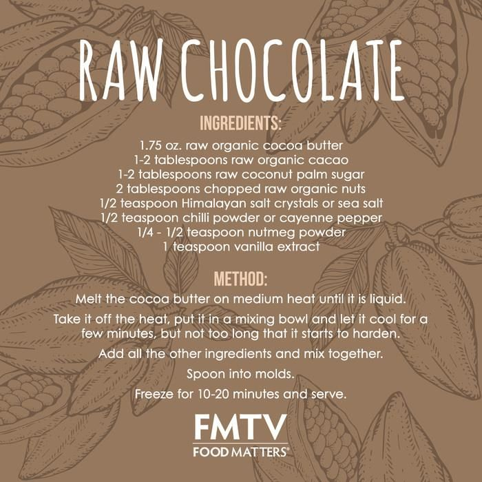 Jon Gabriel Raw Chocolate Recipes