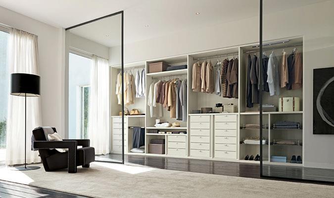 Camera da letto moderna. Modern bedroom. www.arredissima.com