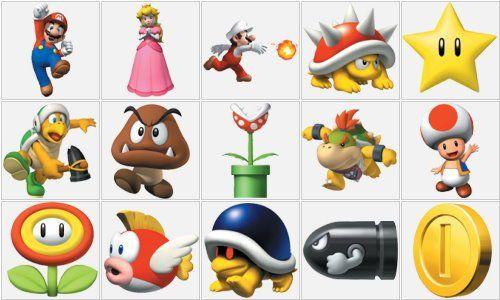 Mario Bross personajes