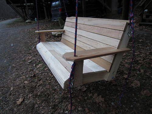 DIY Pallet Swing Step By Step Pics