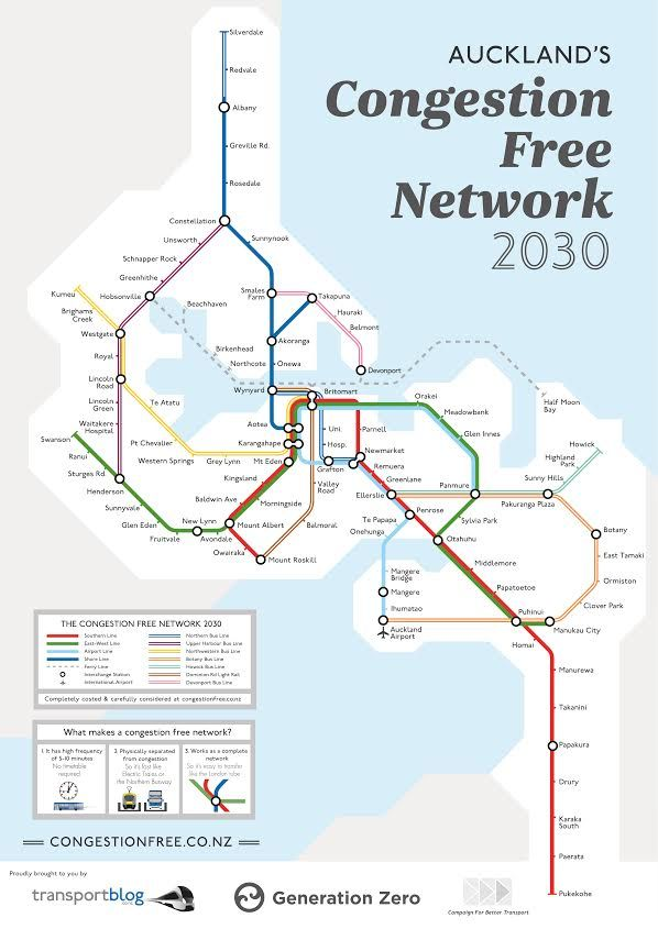 the idea for a Congestion Free Auckland